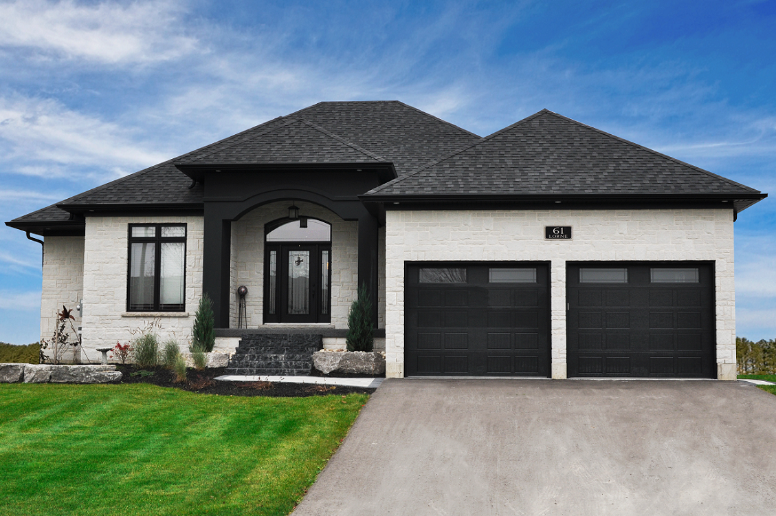 Ranch Style Bungalow Year 2016 Location Harriston On Client Candue Homes Category Custom Home This Elegant French Inspired Home Offers An Impressive Open Floor Plan The Kitchen Has A Large Island With Raised Bar Plenty Of Cabinets For Storage